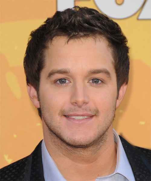 Easton Corbin Short Straight Hairstyle