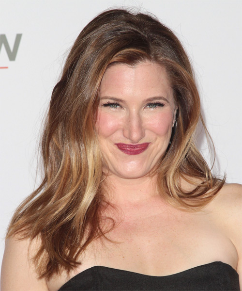Kathryn Hahn Long Straight Hairstyle