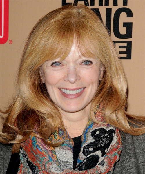 Frances Fisher Long Straight Casual Hairstyle