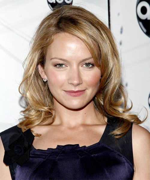 Becki Newton Long Wavy Formal Hairstyle