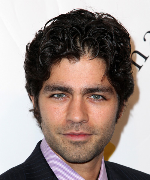Adrian Grenier - Casual Short Wavy Hairstyle