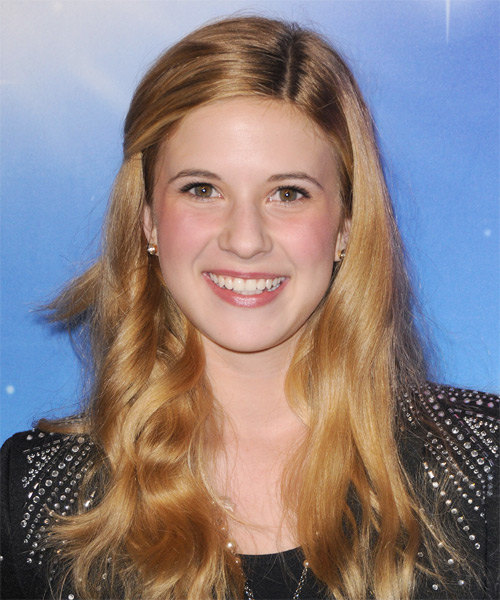Caroline Sunshine  Long Wavy Hairstyle