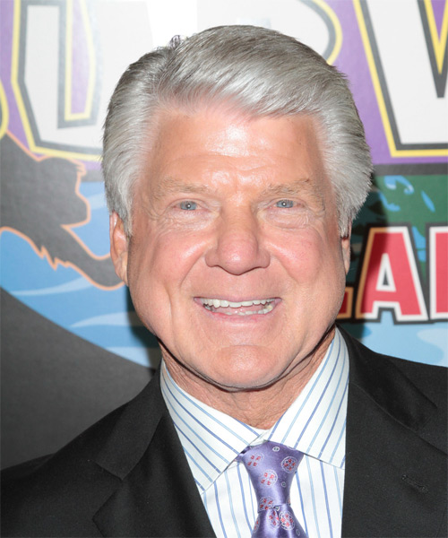 Jimmy Johnson Short Straight Hairstyle