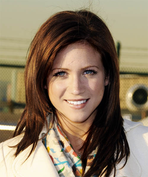 Brittany Snow Long Straight Casual Hairstyle