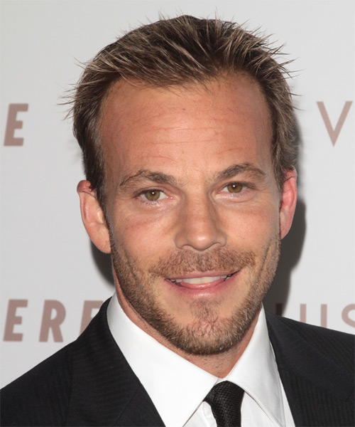 Stephen Dorff - Casual Short Straight Hairstyle