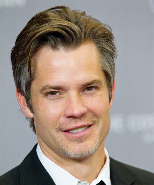 Timothy Olyphant - Formal Short Straight Hairstyle