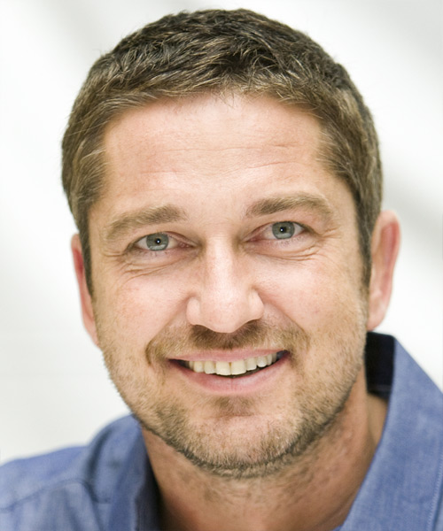 Gerard Butler - Casual Short Straight Hairstyle