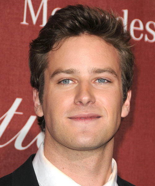Armie Hammer - Casual Short Straight Hairstyle