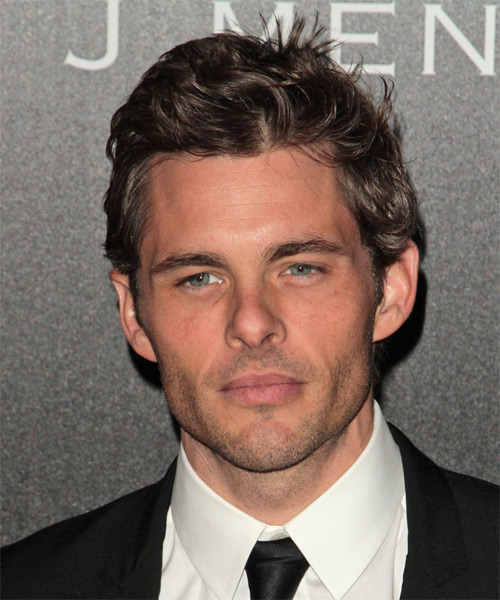 James Marsden Short Wavy Casual Hairstyle