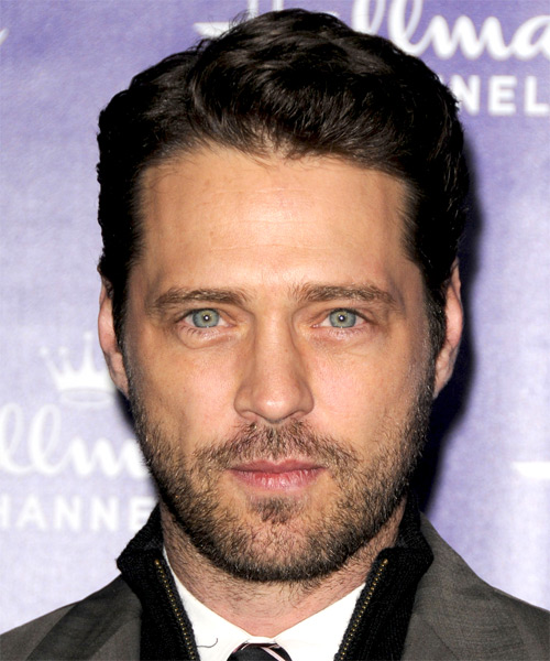 Jason Priestly - Formal Short Straight Hairstyle