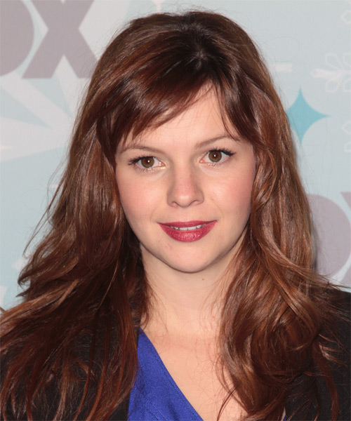 Amber Tamblyn - Casual Long Straight Hairstyle