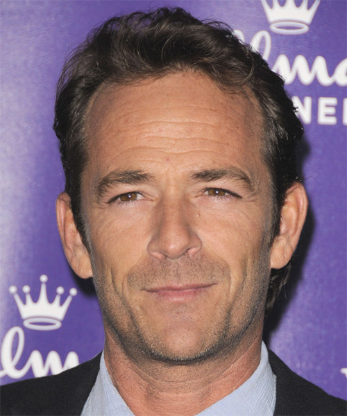 Luke Perry Short Straight Formal Hairstyle