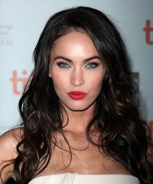 Megan Fox Long Wavy Casual Hairstyle