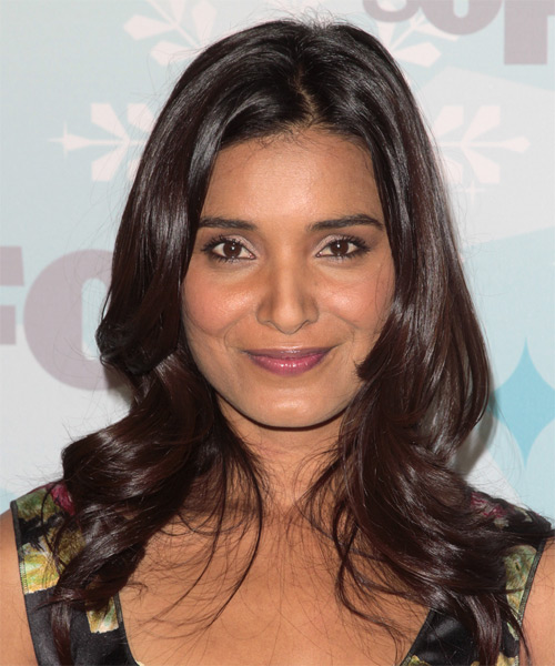 Shelley Conn Long Wavy Formal Hairstyle