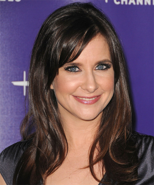 Kellie Martin Long Straight Casual Hairstyle