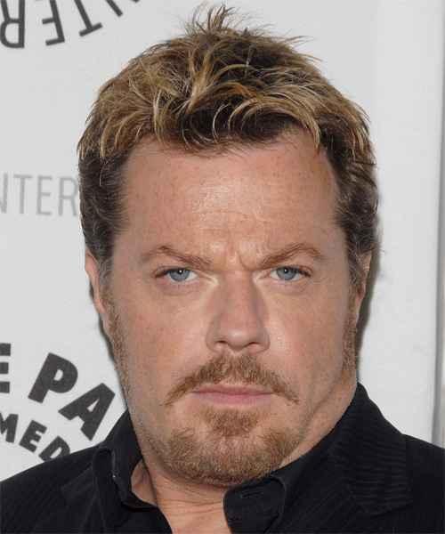 Eddie Izzard - Casual Short Straight Hairstyle
