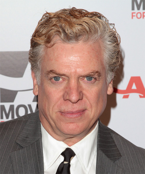 Christopher McDonald - Formal Short Wavy Hairstyle