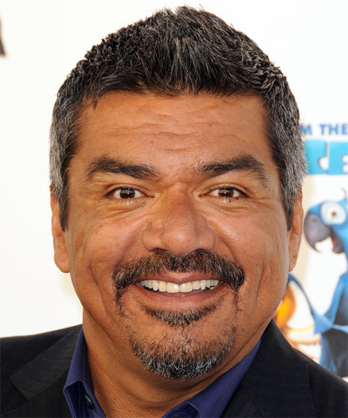 George Lopez Short Straight Casual Hairstyle