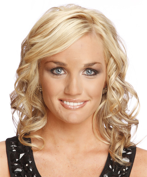 Long Curly Formal  - Light Blonde