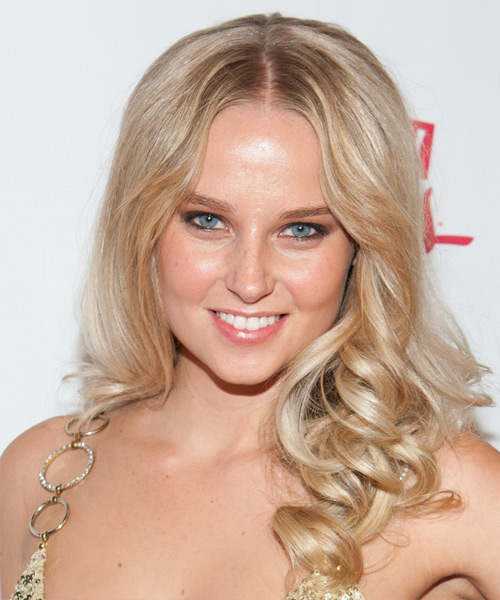 Genevieve Morton Long Curly Hairstyle