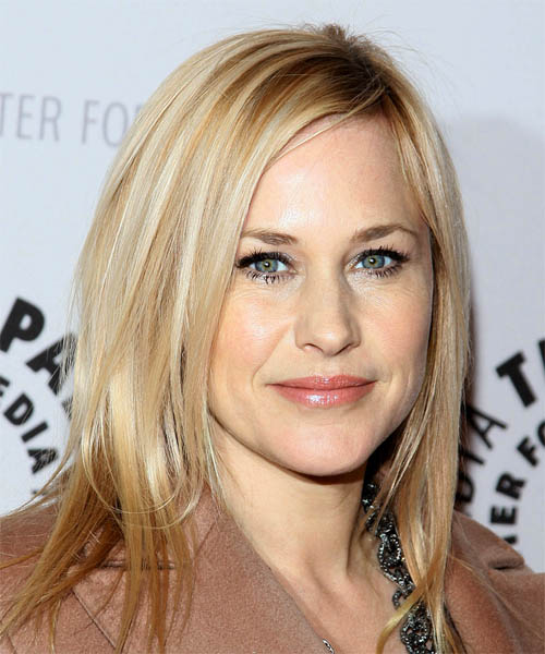 Patricia Arquette Long Straight Hairstyle