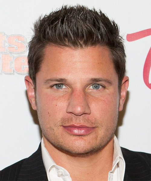 Nick Lachey - Casual Short Straight Hairstyle