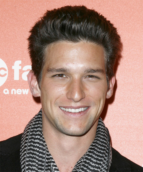 Daren Kagasoff Short Straight Hairstyle - Black