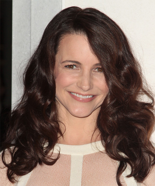 Kristin Davis Long Wavy Casual