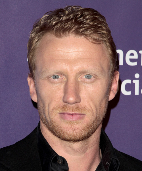 Kevin McKidd Short Straight Hairstyle - Medium Blonde