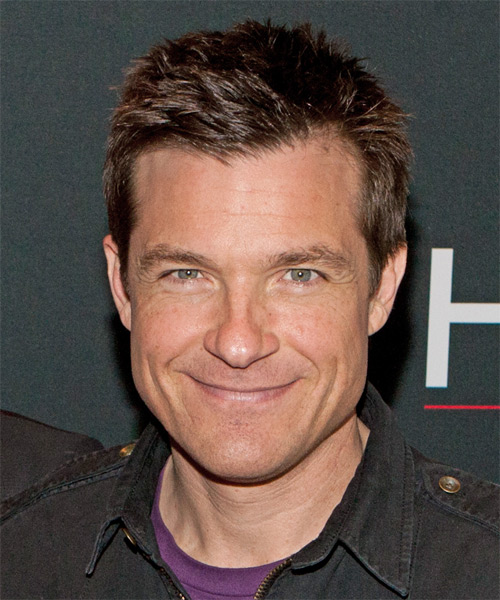 Jason Bateman Short Straight Casual Hairstyle - Medium Brunette Hair Color
