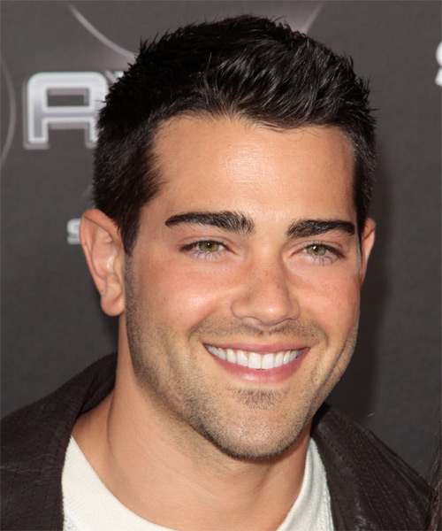 Jesse Metcalfe Short Straight Casual Hairstyle - Medium Brunette Hair Color