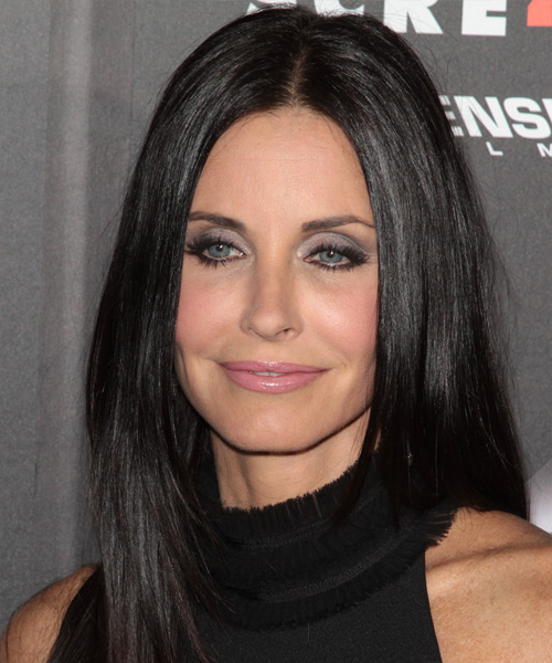 Courtney Cox Long Straight Casual