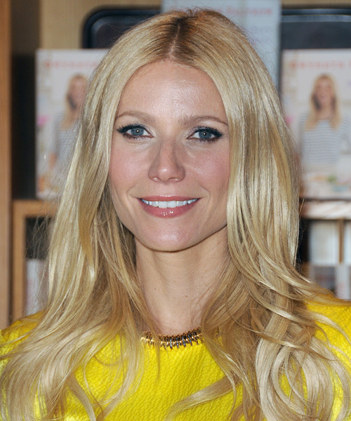 Gwyneth Paltrow Long Straight Hairstyle - Light Blonde (Golden)