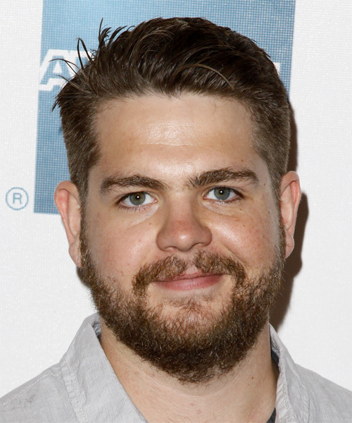 Jack Osbourne Short Straight Formal Hairstyle - Medium Brunette Hair Color