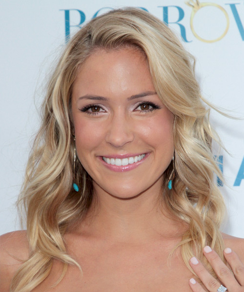 Kristin Cavallari Long Wavy Hairstyle - Light Blonde