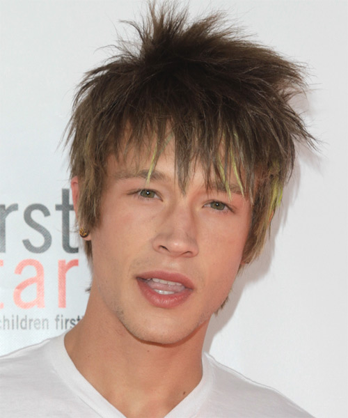 Nick Roux - Alternative Short Straight Hairstyle