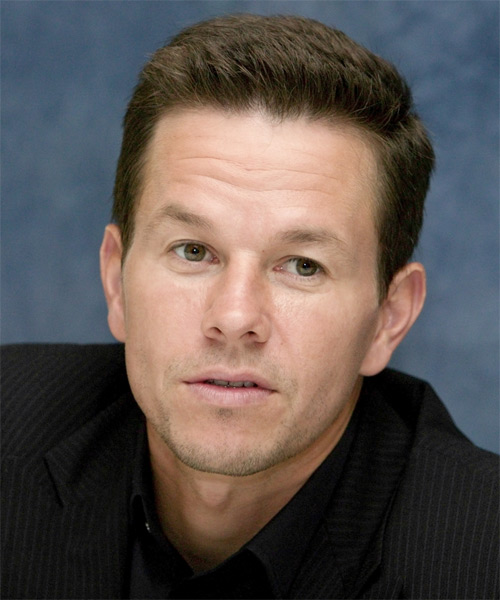 Mark Wahlberg Short Straight Hairstyle - Light Brunette