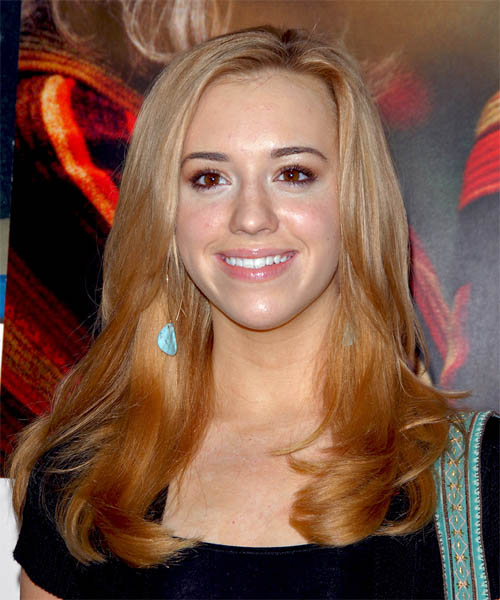 Andrea Bowen - Casual Long Straight Hairstyle
