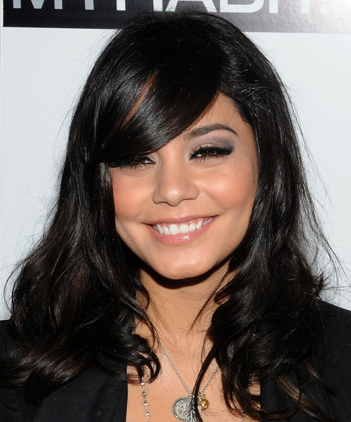 Vanessa Hudgens - Formal Long Wavy Hairstyle