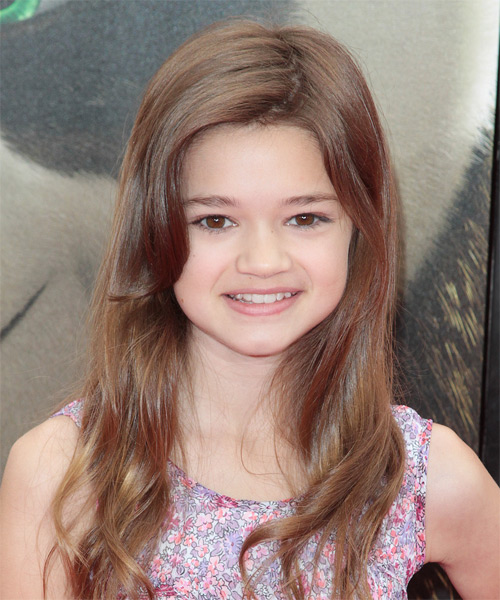 Ciara Bravo - Casual Long Straight Hairstyle