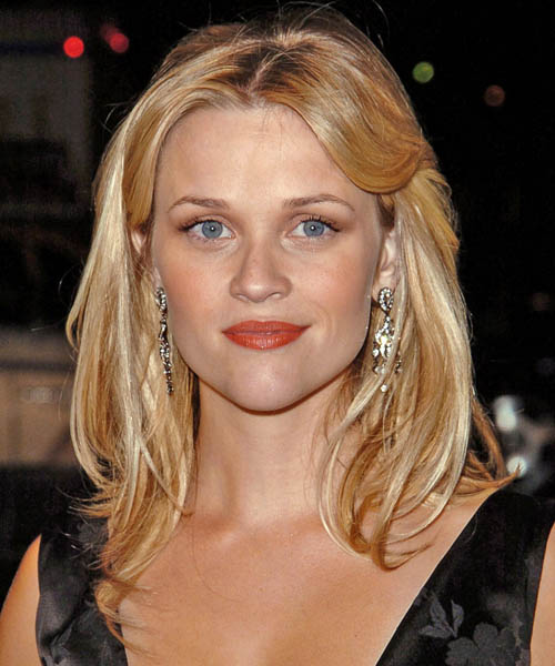 Reese Witherspoon Long Straight Casual Hairstyle