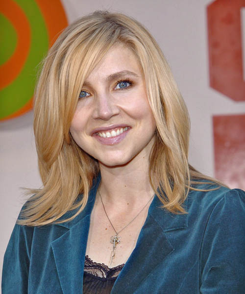 Sarah Chalke - Casual Long Straight Hairstyle