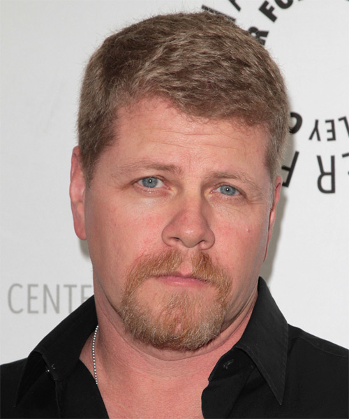 Michael Cudlitz Short Straight Hairstyle - Light Brunette (Caramel)