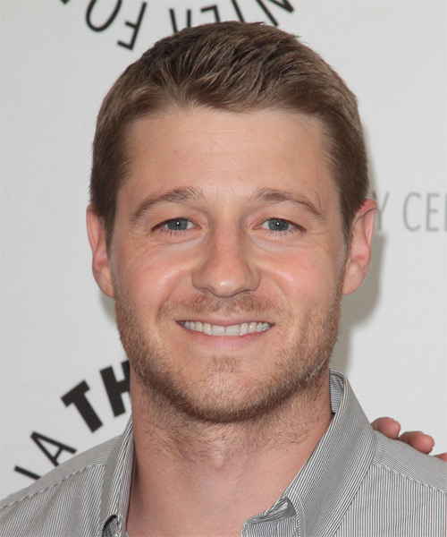 Ben McKenzie Short Straight Hairstyle - Dark Blonde