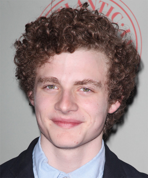 Ben Rosenfeld  Short Curly Casual Hairstyle - Medium Brunette (Auburn) Hair Color