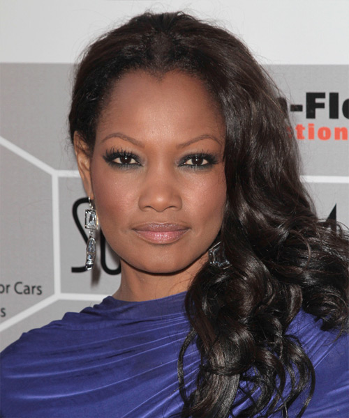 Garcelle Beauvais-Nilon Long Wavy Hairstyle - Black