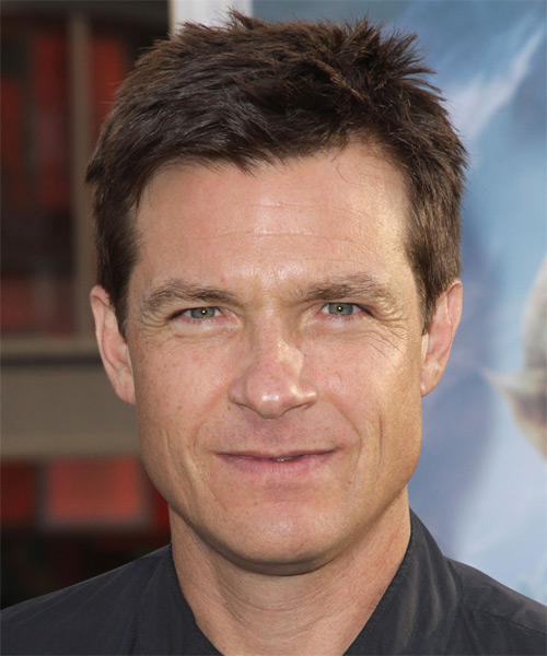 Jason Bateman Short Straight Hairstyle - Medium Brunette (Chocolate)