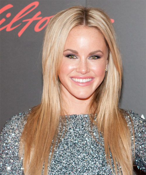 Julie Berman Long Straight Hairstyle - Medium Blonde (Golden)