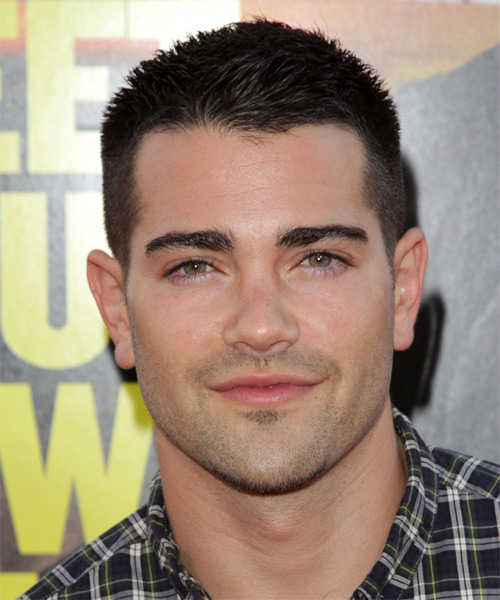 Jesse Metcalfe Short Straight Hairstyle - Dark Brunette