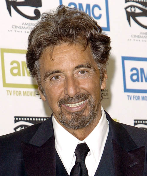 Al Pacino - Casual Short Wavy Hairstyle